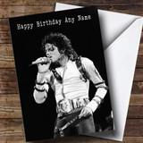 Customised Michael Jackson Celebrity Birthday Card