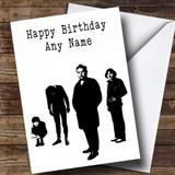 Customised The Stranglers Celebrity Birthday Card