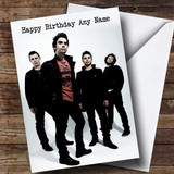 Customised Stereophonics Celebrity Birthday Card