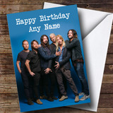 Customised Foo Fighters Celebrity Birthday Card