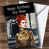 Customised Paloma Faith Celebrity Birthday Card