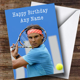 Customised Rafael Nadal Celebrity Birthday Card