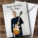 Customised Bryan Adams Celebrity Birthday Card