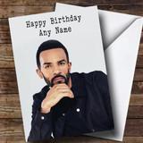 Customised Craig David Celebrity Birthday Card