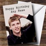 Customised George Ezra Celebrity Birthday Card