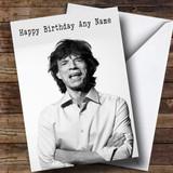 Customised Mick Jagger Celebrity Birthday Card
