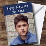 Customised Niall Horan Celebrity Birthday Card