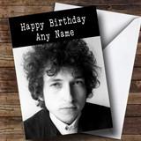 Customised Bob Dylan Celebrity Birthday Card