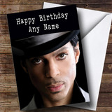 Customised Prince Celebrity Birthday Card