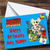 Dangermouse Customised Birthday Card