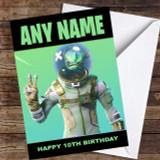 Fortnite leviathan Customised Children's Birthday Card