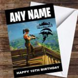 Game Fortnite Base Customised Children's Birthday Card
