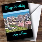 Malaga Customised Birthday Card