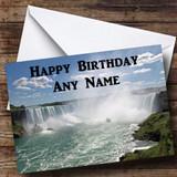 Niagara Falls Customised Birthday Card