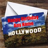 Hollywood Customised Birthday Card