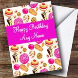 Birthday Cakes Customised Birthday Card