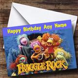 Fraggle Rock Customised Birthday Card