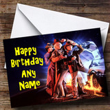 Back To The Future Customised Birthday Card
