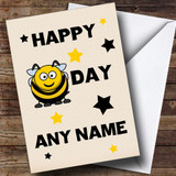 Funny Joke Bee Customised Birthday Card