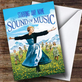 Spoof The Sound Of Music Movie Film Poster Customised Birthday Card