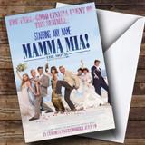 Spoof Mama Mia Movie Film Poster Customised Birthday Card