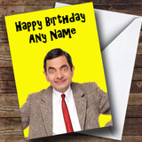 Mr Bean Customised Birthday Card