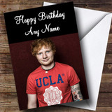 Ed Sheeran Customised Birthday Card