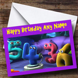 The Numberjacks Customised Birthday Card