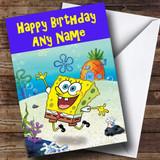 SpongeBob Squarepants Customised Birthday Card