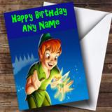 Peter Pan Customised Birthday Card