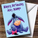 Eeyore Customised Birthday Card