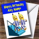 Bananas In Pyjamas Customised Birthday Card