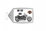Harley Davidson Motorbike Keyring