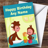 Tee And Mo Customised Children's Birthday Card