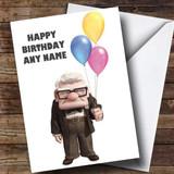 Customised Disney Up Children's Birthday Card