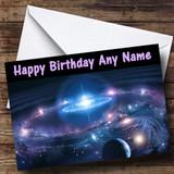 Solar System Customised Birthday Card