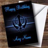 Sikh Customised Birthday Card
