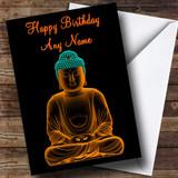 Beautiful Buddha Customised Birthday Card
