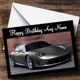 Porsche Panamera Customised Birthday Card