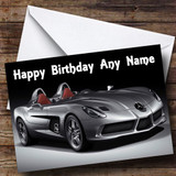 Mercedes Slr McLaren Customised Birthday Card