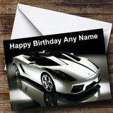 Lamborghini Diablo Customised Birthday Card