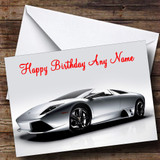 Lamborghini Murcielago Customised Birthday Card