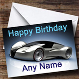 Inceptor Supercar Customised Birthday Card