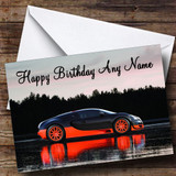 Bugatti Veyron Super Sport Customised Birthday Card