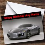 Acura Car Customised Birthday Card