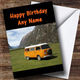 Campervan Customised Birthday Card