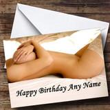 Sexy Erotic Ladies Body Customised Birthday Card