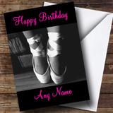Beautiful Ballet Customised Birthday Card