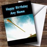 Archery Customised Birthday Card