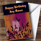Gymnastics Gym Customised Birthday Card